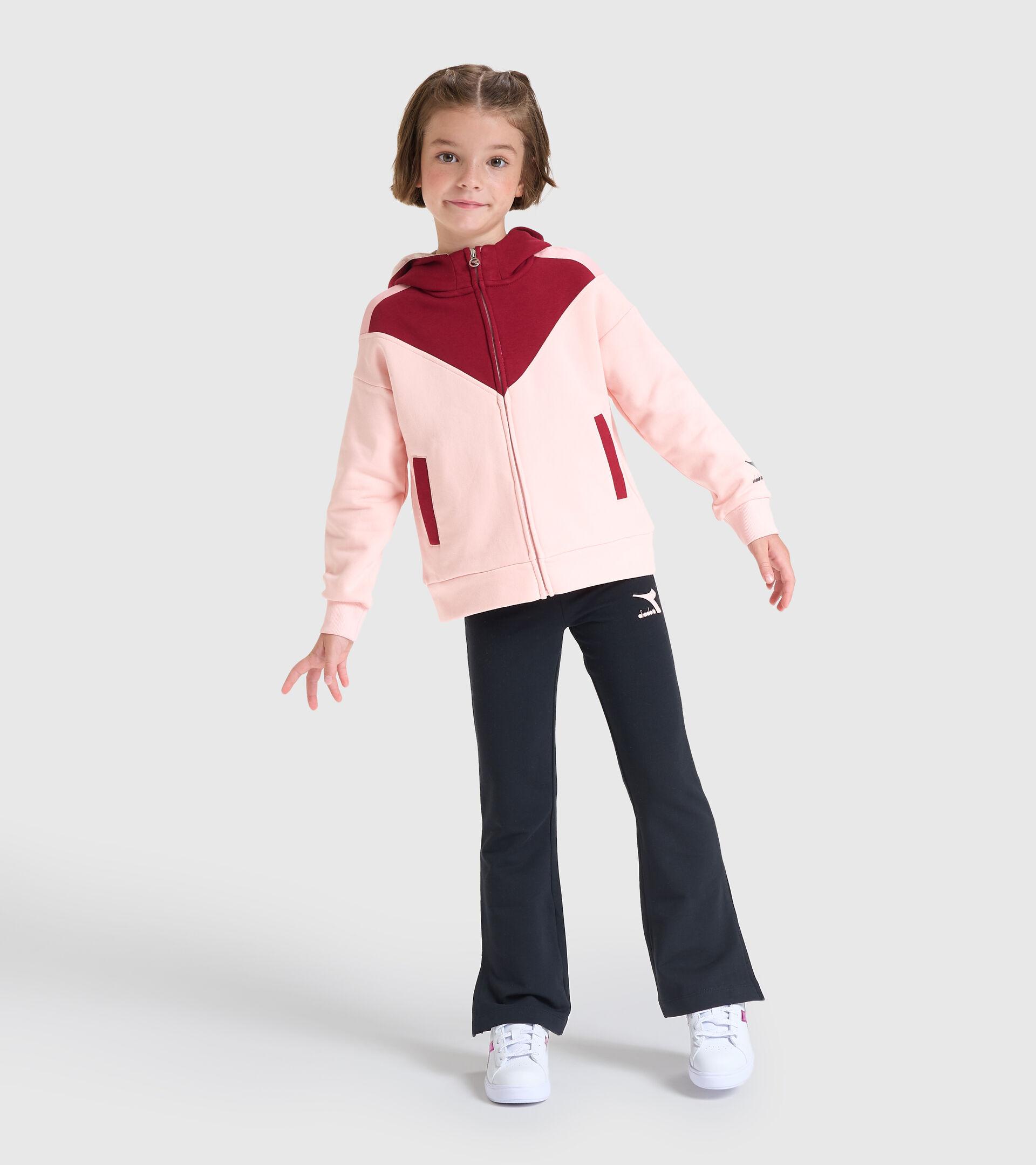 Trainingsanzug - Kinder JG.HD FZ TRACKSUIT TWINKLE VERSCHLEIERT ROSA - Diadora