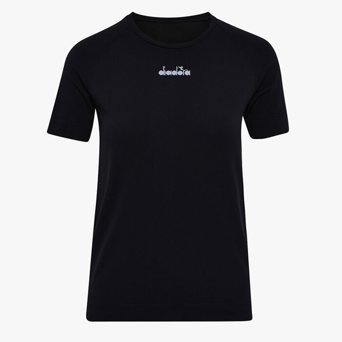 L. SS SKIN FRIENDLY T-SHIRT, BLACK, large