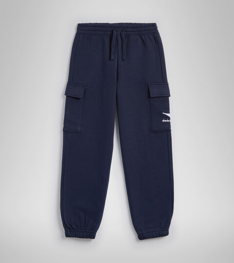 Sports trousers - Kids JB.PANTS CUFF HOOPLA CLASSIC NAVY - Diadora