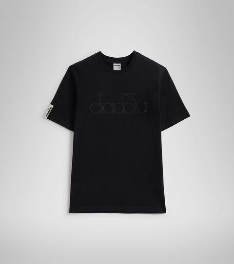 T-shirt - Unisexe T-SHIRT SS DIADORA HD NOIR - Diadora