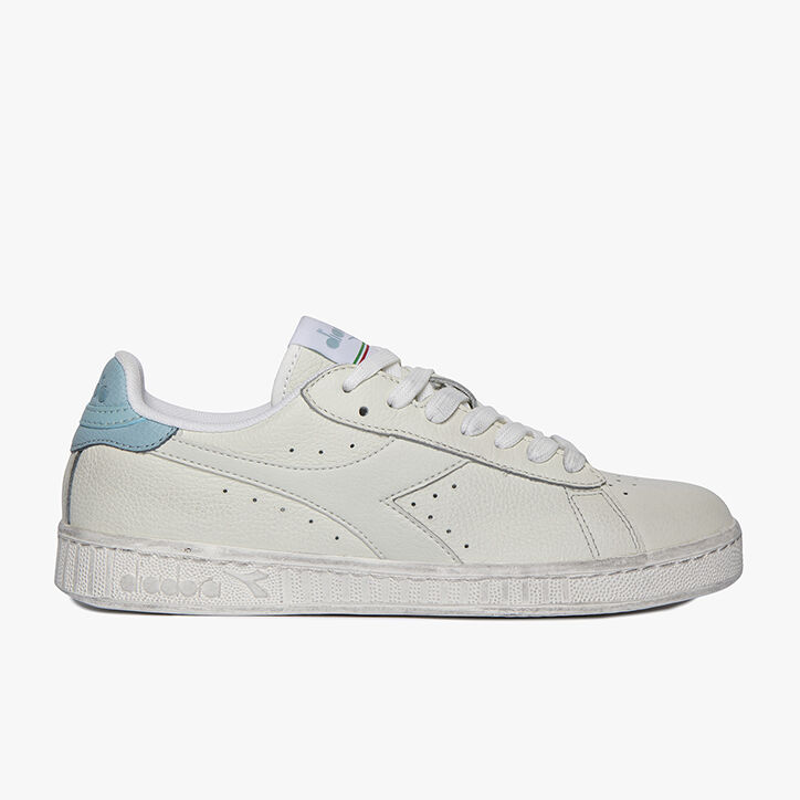 GAME L LOW WAXED, WHITE/AQUATIC, large