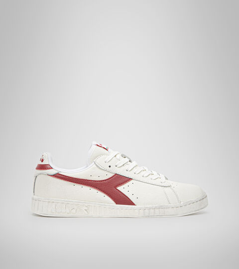 Trainer - Unisex GAME L LOW WAXED WHITE/RED PEPPER - Diadora