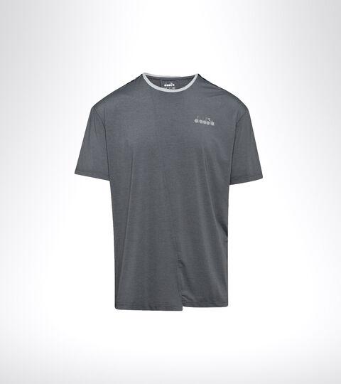 Running T-shirt - Men SS T-SHIRT BE ONE TECH GREY QUIET SHADE - Diadora