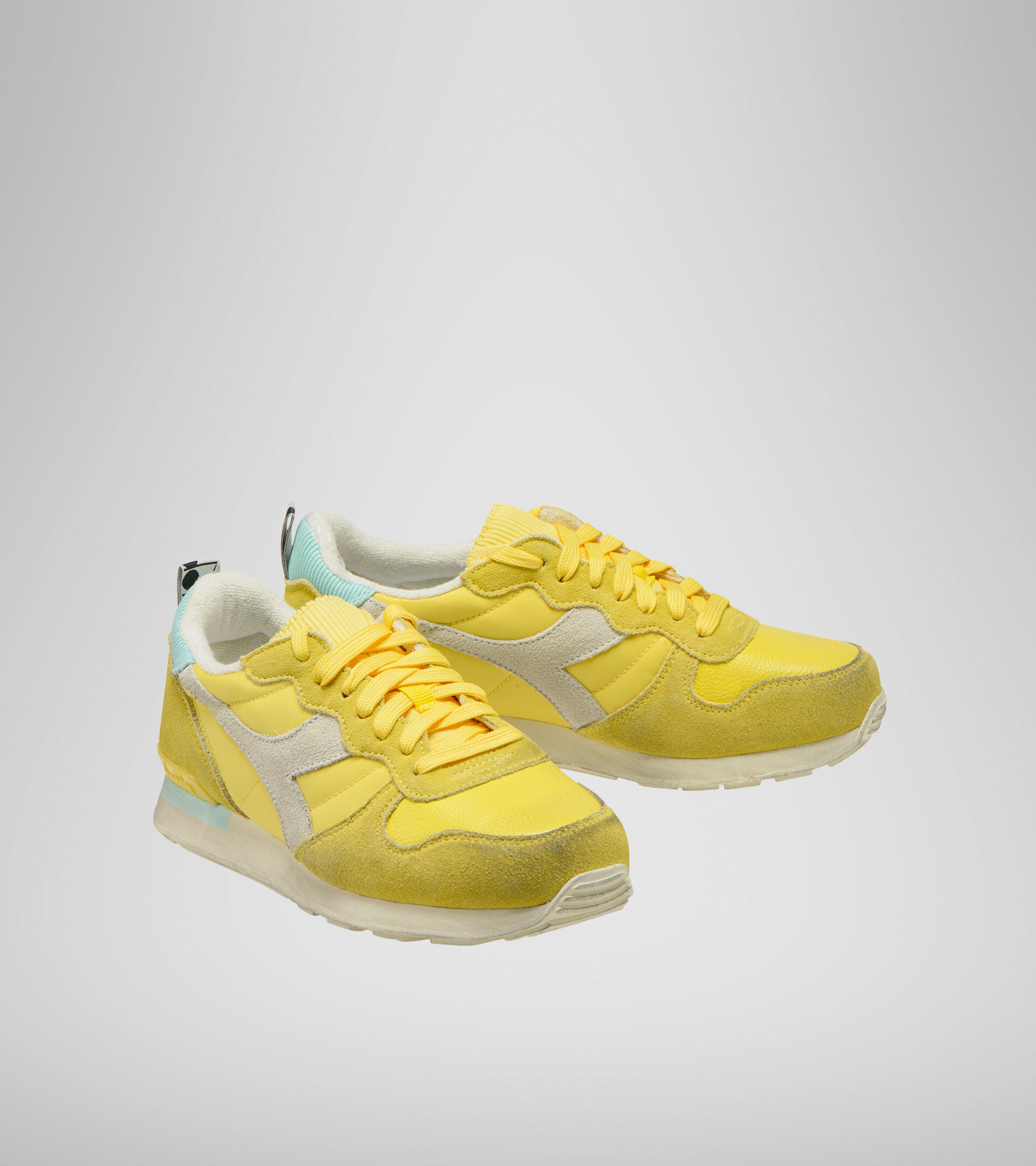 Footwear Sportswear DONNA CAMARO ICONA WN JILGUERO YANQUI/AZUL TINTE Diadora