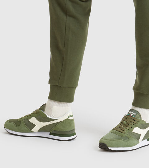 Footwear Sportswear UNISEX CAMARO OLIVINE/WHISPER WHITE Diadora