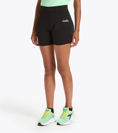 Lauf-Shorts - Damen L. SHORT TIGHTS SCHWARZ - Diadora