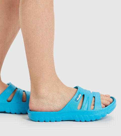 Slippers - Kids AGADIR JR BOX CYAN BLUE FLUO - Diadora