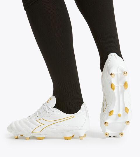 Footwear Sport UOMO BRASIL ELITE LT MPH WHITE/GOLD Diadora