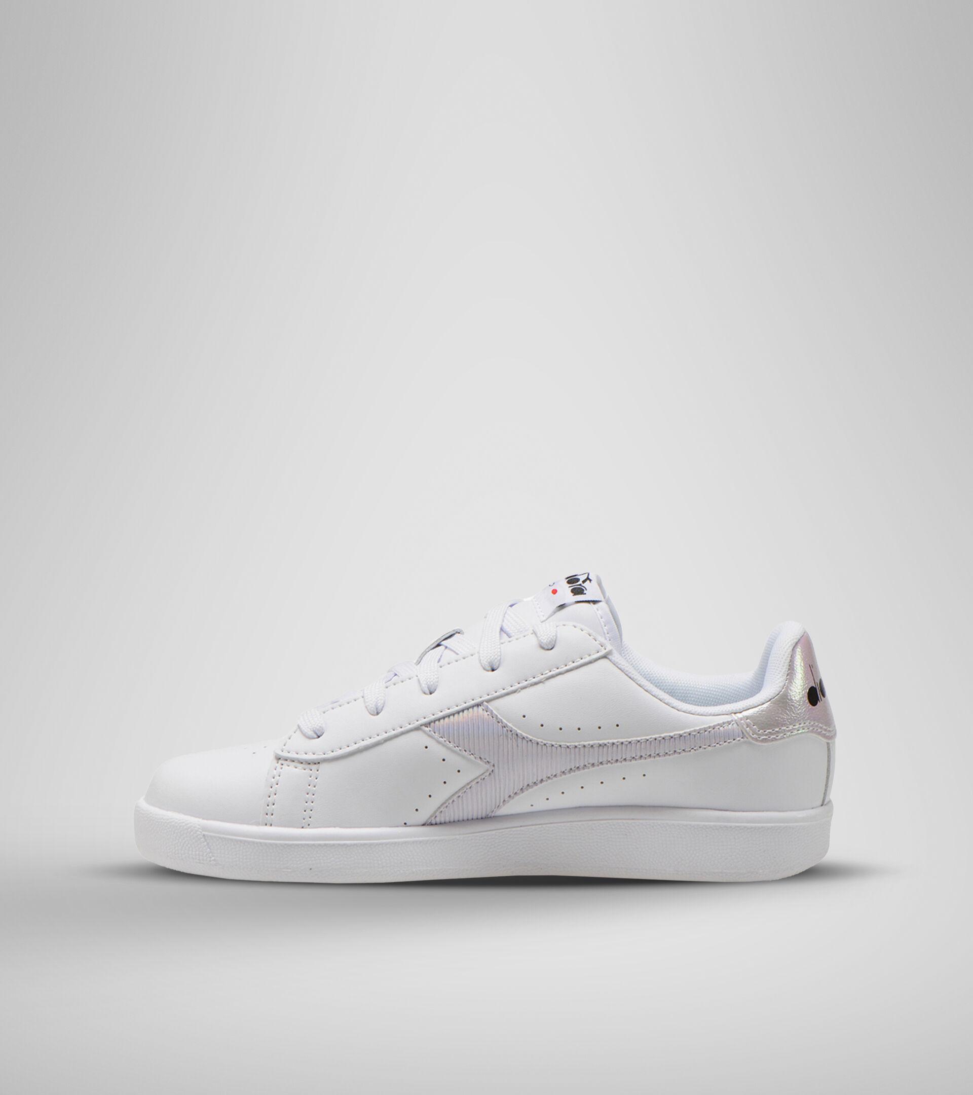 Chaussures de sport - Jeunes 8-16 ans GAME P GS GIRL BLAN/ORCHIDEE FLEUR - Diadora