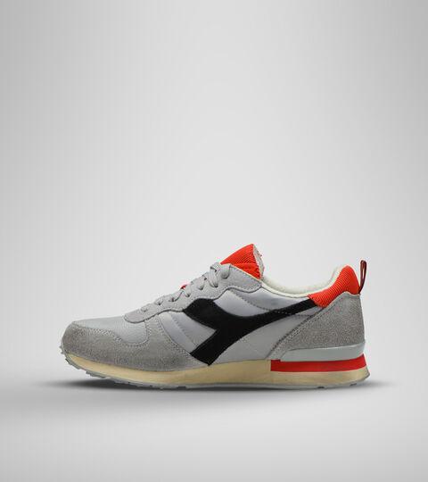 Sports shoe -Unisex CAMARO ICONA HIGH RISE/BLACK/FIERY RED - Diadora