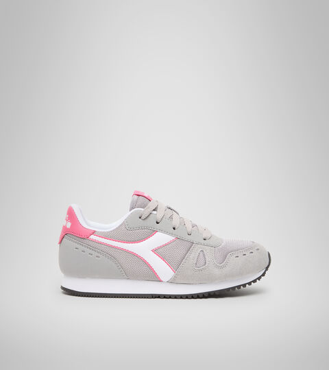 Footwear Sport BAMBINO SIMPLE RUN GS GRIGIO PALOMA Diadora