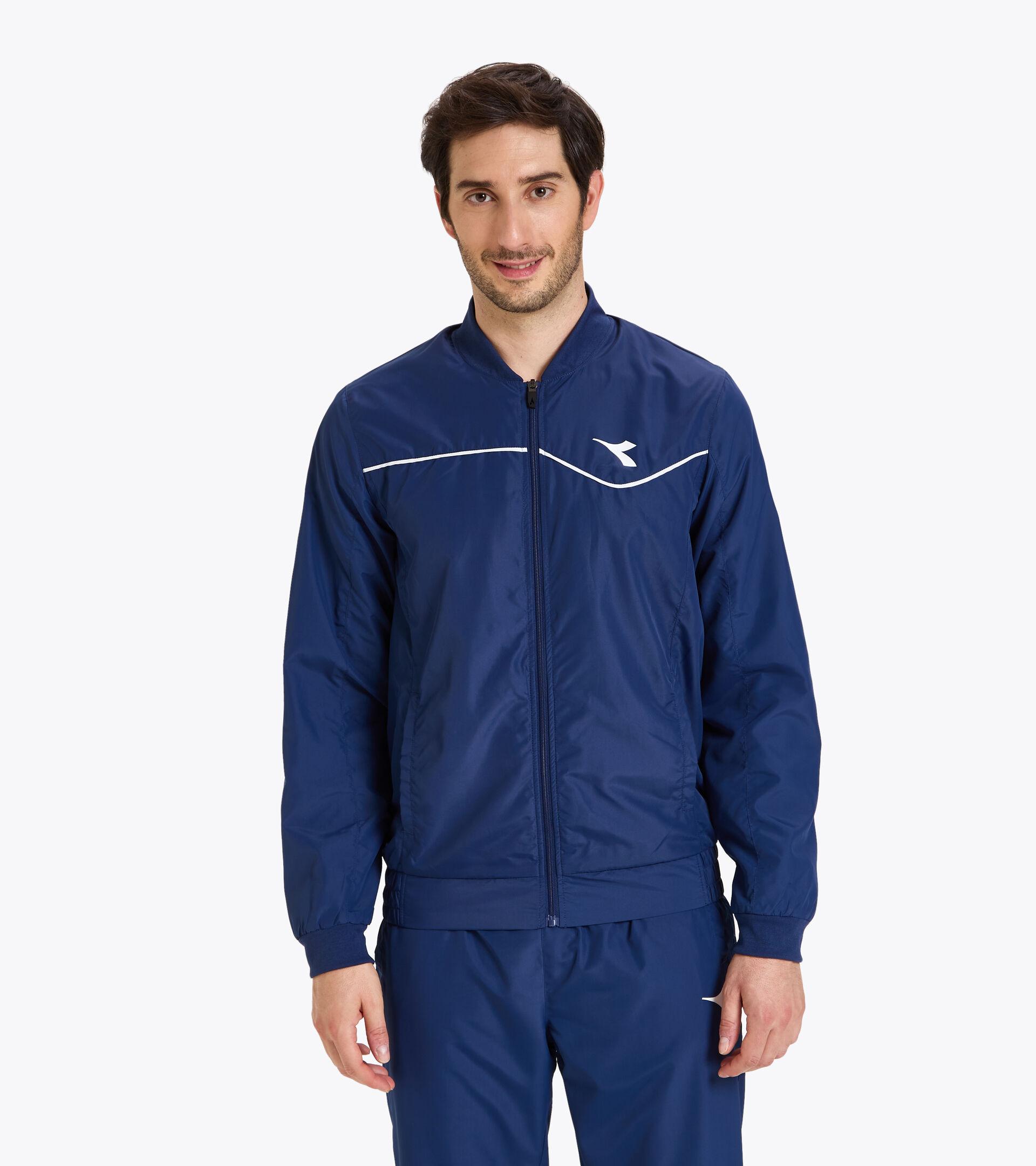 Tennis jacket - Men JACKET COURT SALTIRE NAVY - Diadora