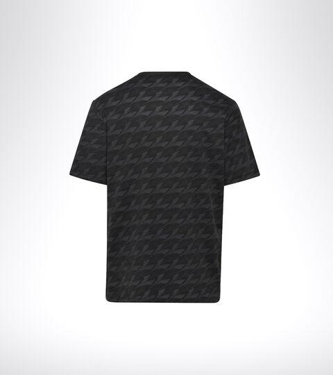 Sportliche T-Shirt - Herren SS T-SHIRT PLUS BE ONE SCHWARZ MUSTER - Diadora