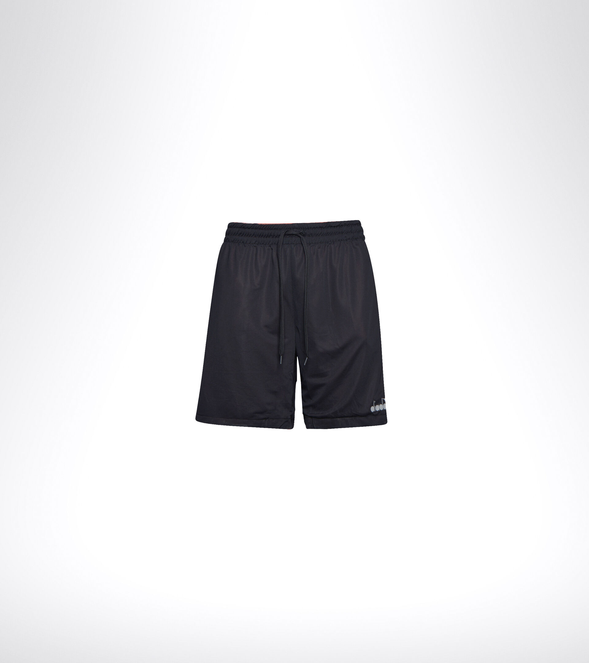 Shorts para correr - Hombrer BERMUDA REVERSIBLE BE ONE MRRN ANARANJADO MECCA/NEGRO - Diadora