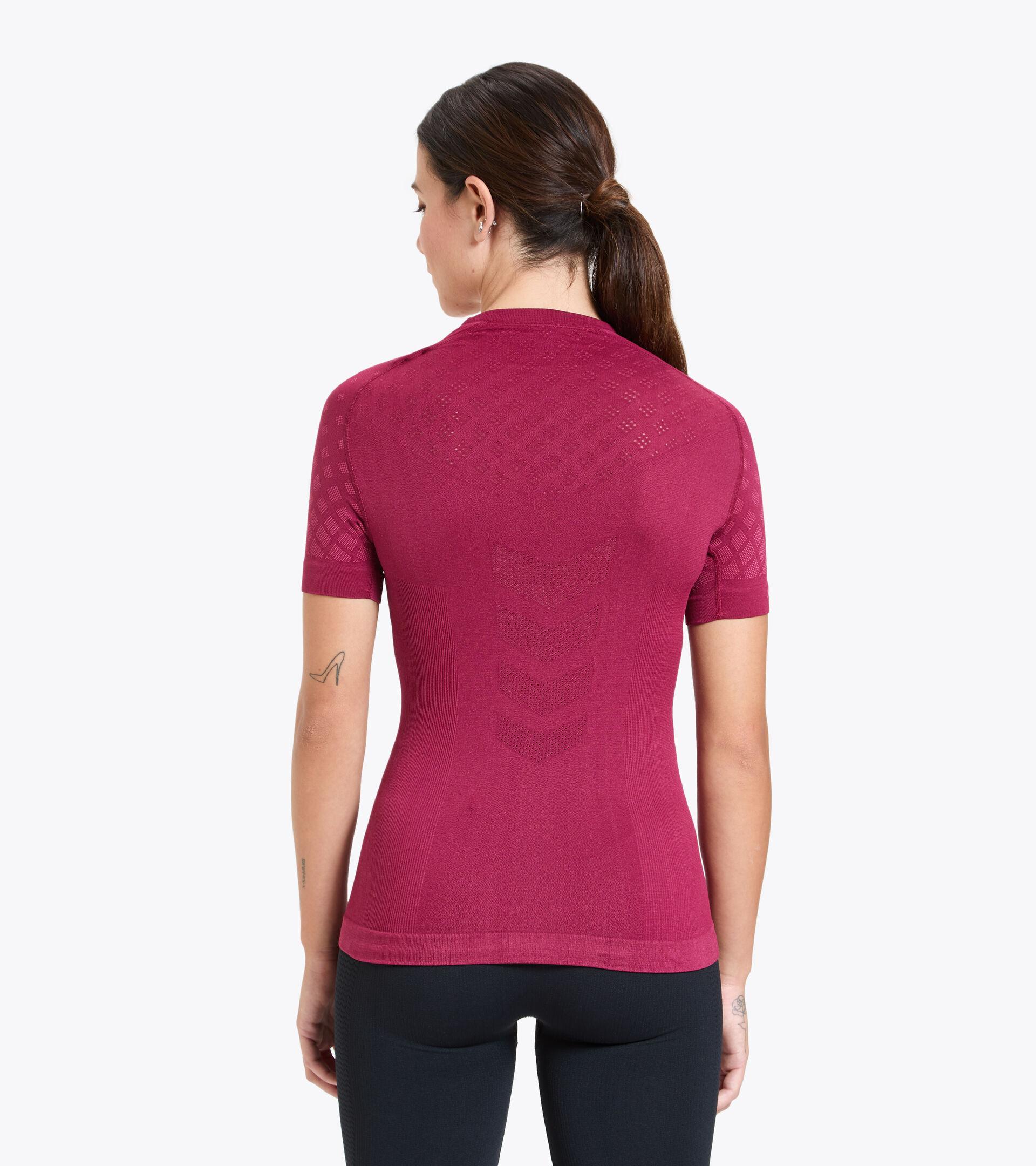 Trainings-T-shirt - Damen L. SS T-SHIRT ACT RHODODENDRON - Diadora