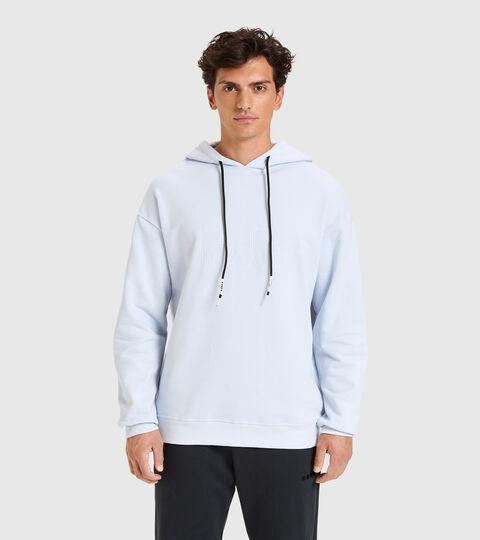 Hooded sweatshirt - Unisex HOODIE DIADORA HD SKY-BLUE ARTIC ICE - Diadora