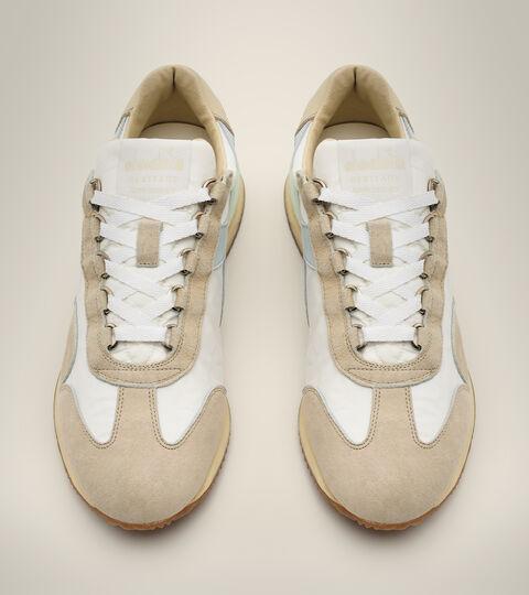 Heritage-Schuh Made in Italy - Damen EQUIPE MAD ITALIA NUBUCK SW WN MILCH WEISS - Diadora