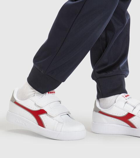 Chaussures de sport - Enfants 4-8 ans GAME P PS BIANCO/ROSSO TANGO - Diadora