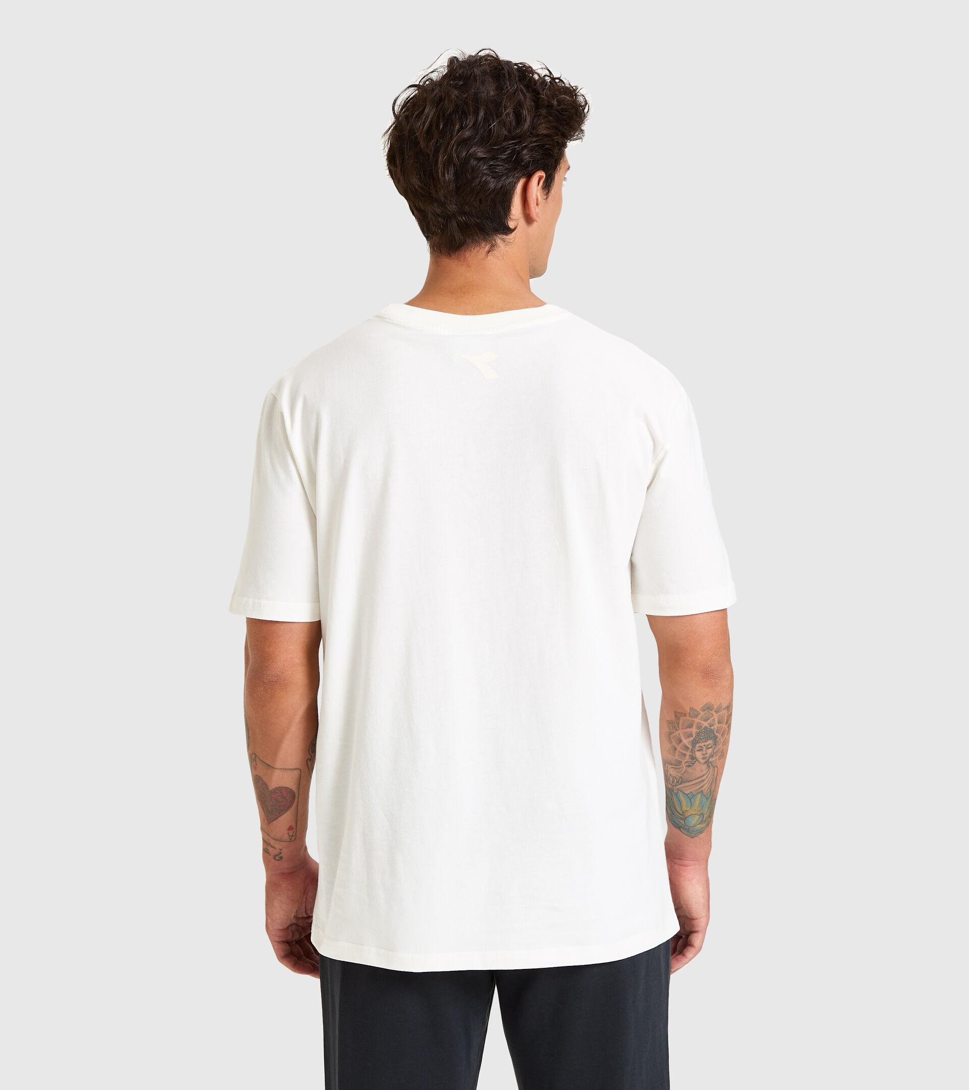 T-Shirt - Unisex T-SHIRT SS DIADORA HD MARSHMALLOW WEISS - Diadora