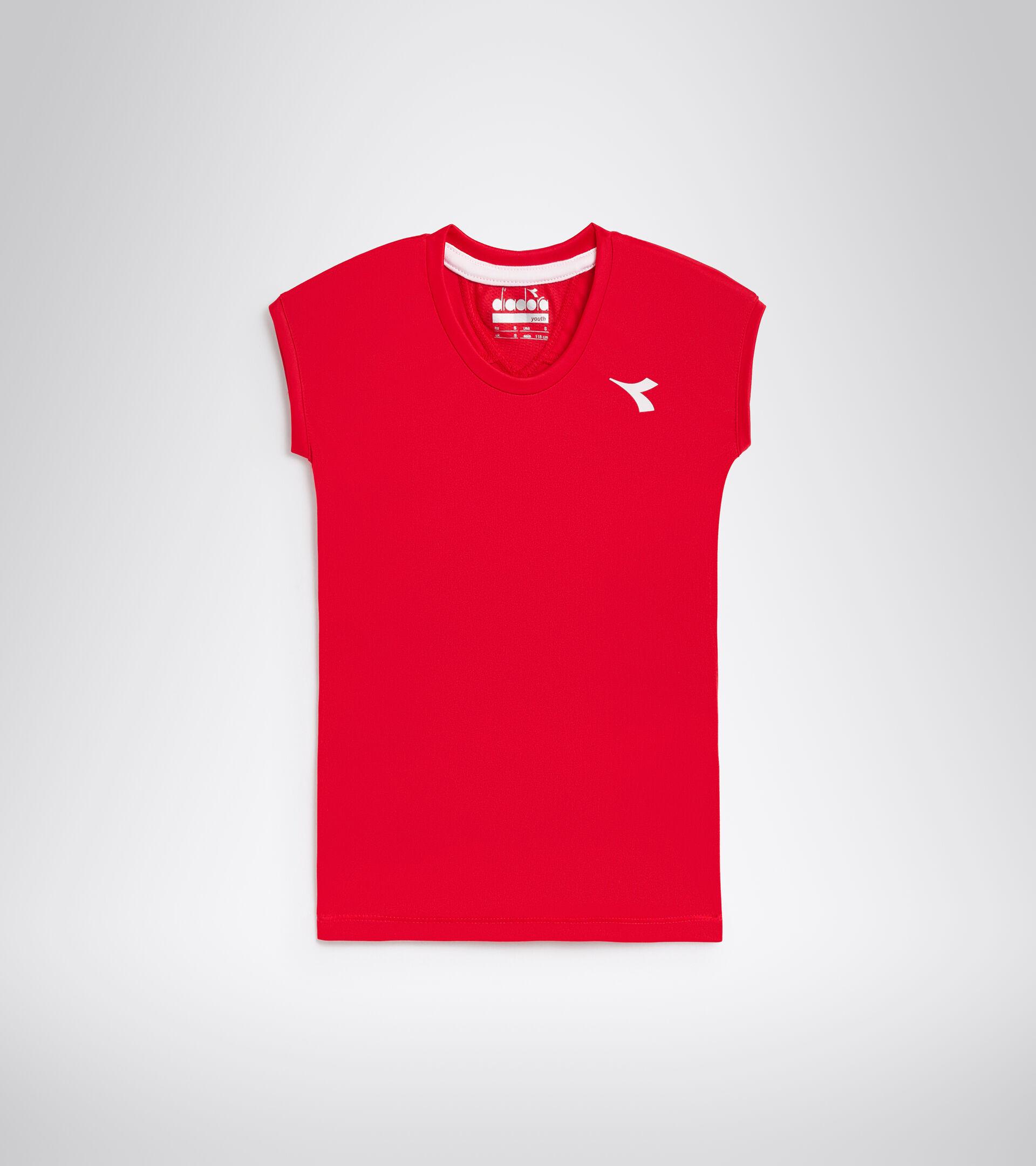 Apparel Sport BAMBINO G. T-SHIRT TEAM TOMATO RED Diadora