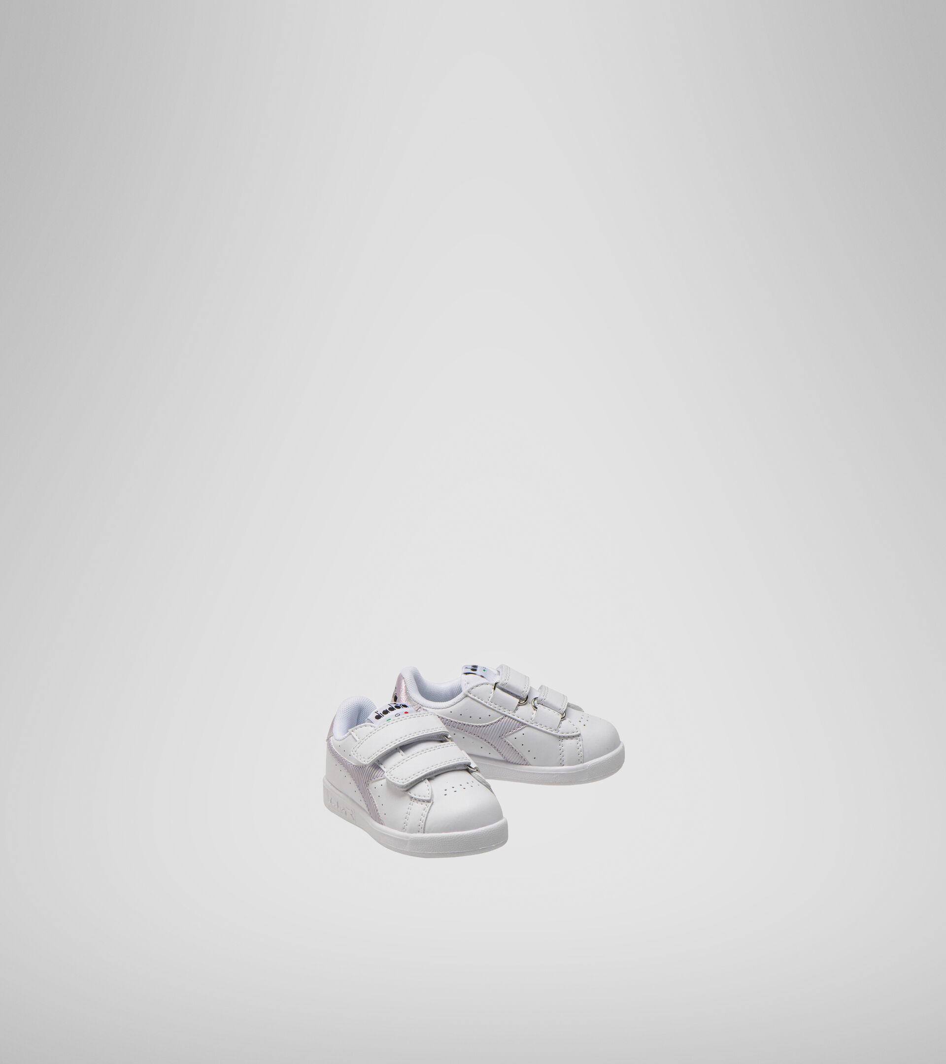Sports shoes - Toddlers 1-4 years GAME P TD GIRL WHITE/ORCHID BLOOM - Diadora