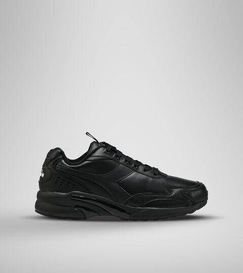 Footwear Sportswear UNISEX DISTANCE 280 LEATHER BLACK /BLACK /BLACK Diadora