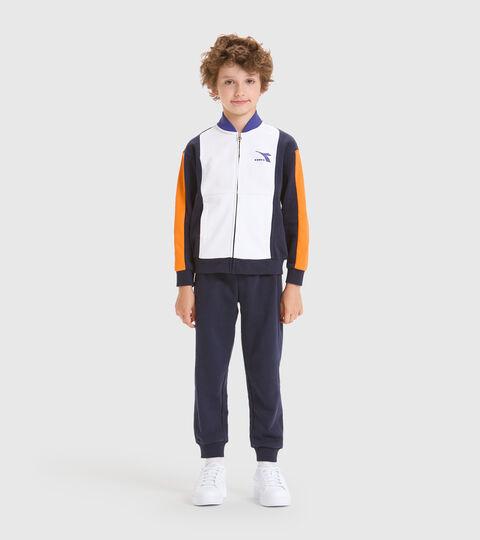 Trainingsanzug - Kinder JB.TRACKSUIT FZ HOOPLA CABAN BLAU - Diadora