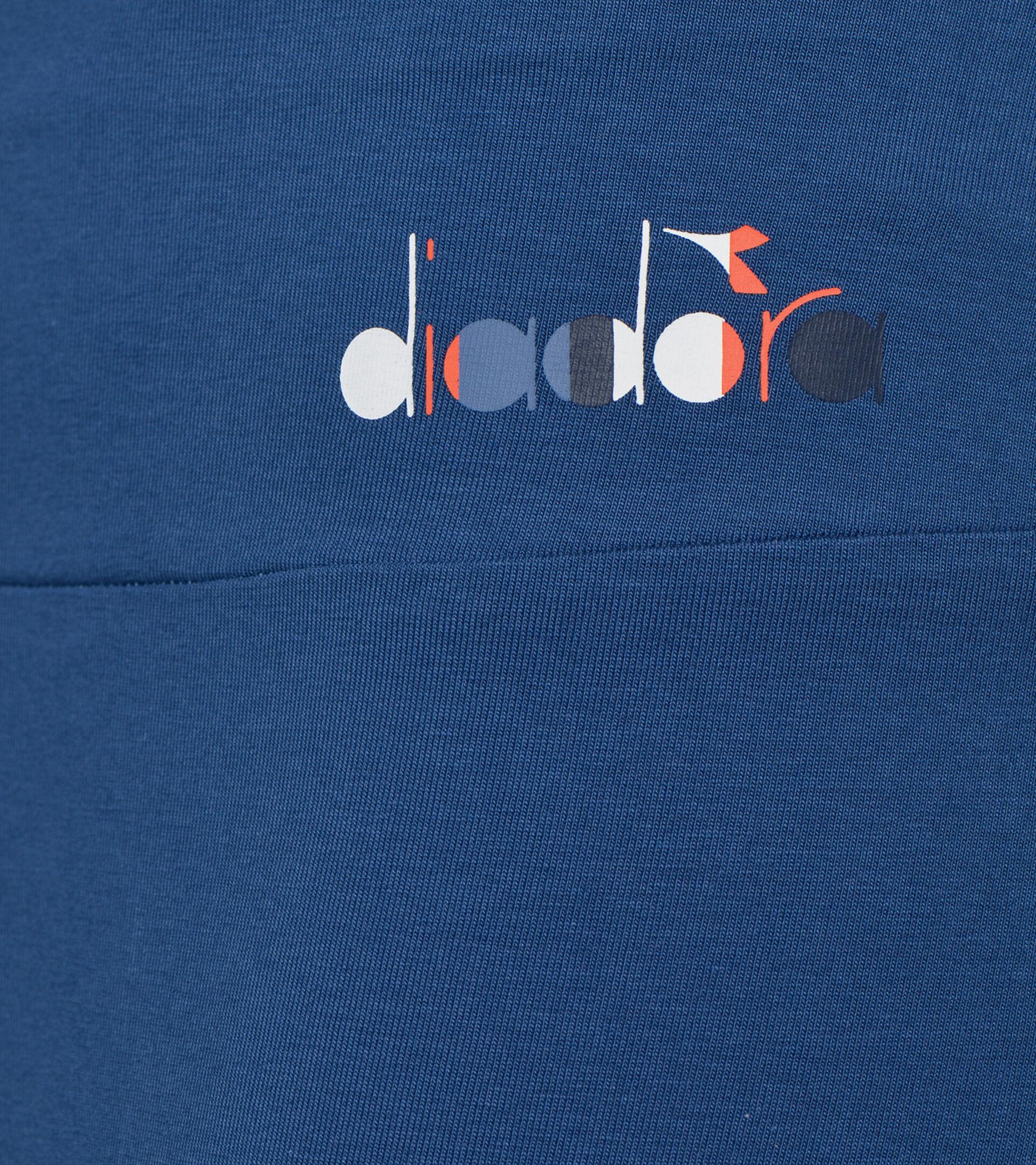 Apparel Sport DONNA L.LEGGINGS SPOTLIGHT AZUL BANDERIN Diadora