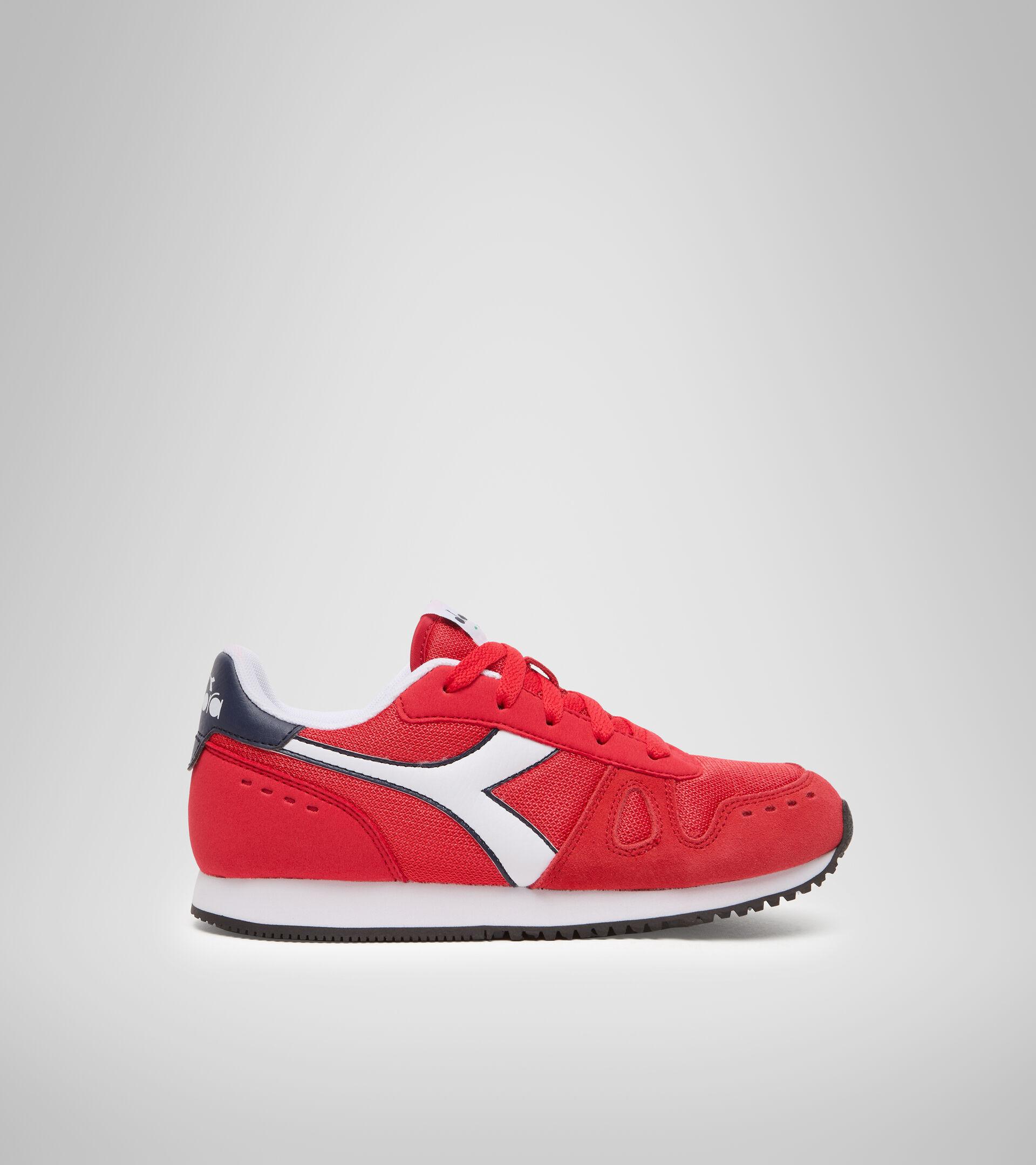 Footwear Sport BAMBINO SIMPLE RUN GS TOMATO RED Diadora