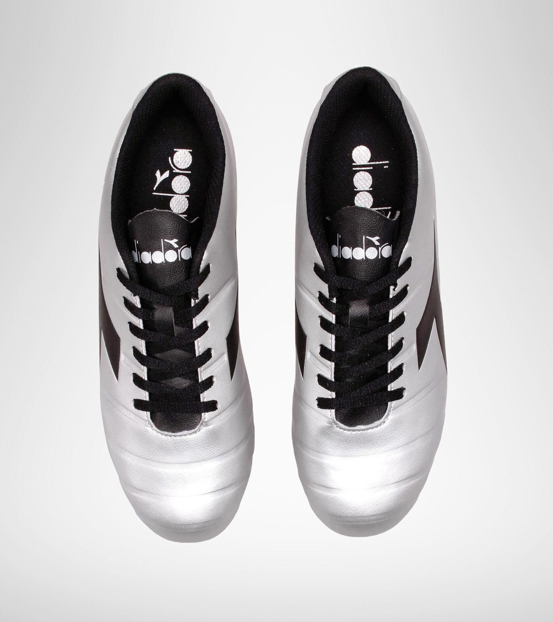 Firm ground football boot PICHICHI 3 MG14 SILVER DD/BLACK - Diadora