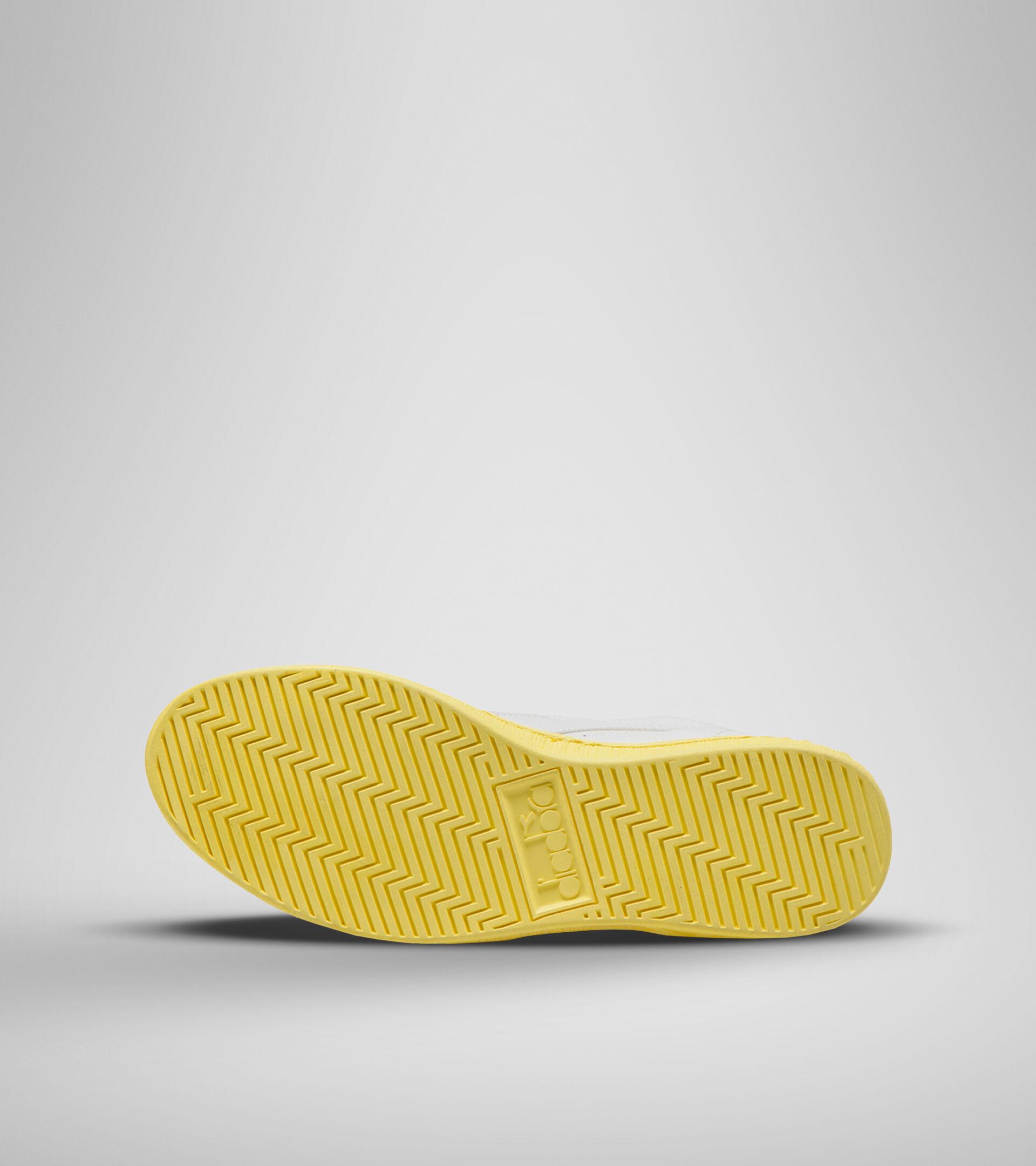 Footwear Sportswear DONNA GAME L ROW CUT SOLE BLOCK WN WHITE/POPCORN Diadora