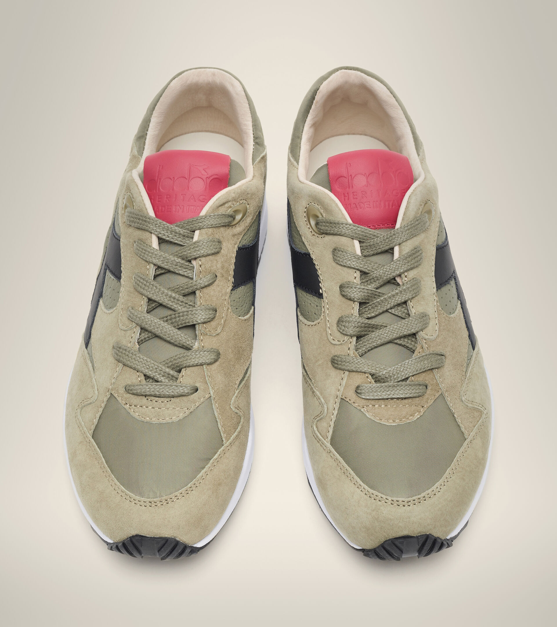 Footwear Heritage UOMO ECLIPSE ITALIA BURNT OLIVE GREEN Diadora