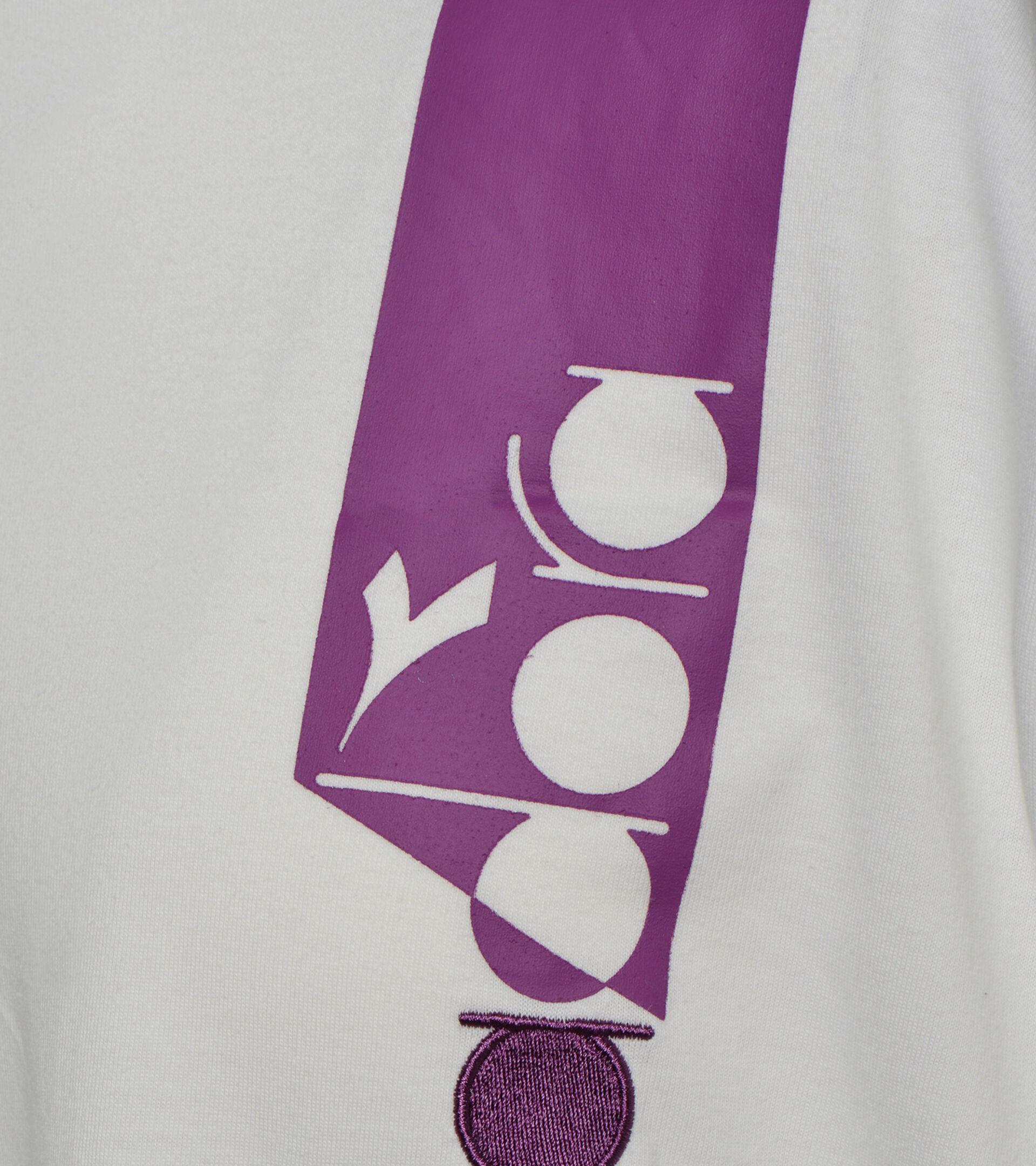 T-shirt - Unisex T-SHIRT SS ICON GLANZEND TRAUB/MILCH WSS/SCHWZ - Diadora