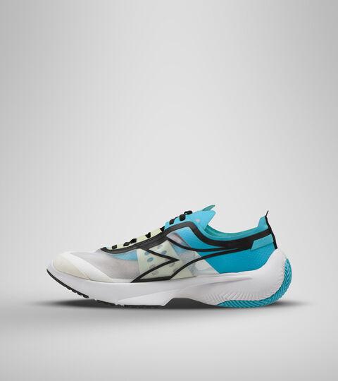 Sports shoe -Unisex URBAN EQUIPE WHITE/GREEN PASTEL - Diadora