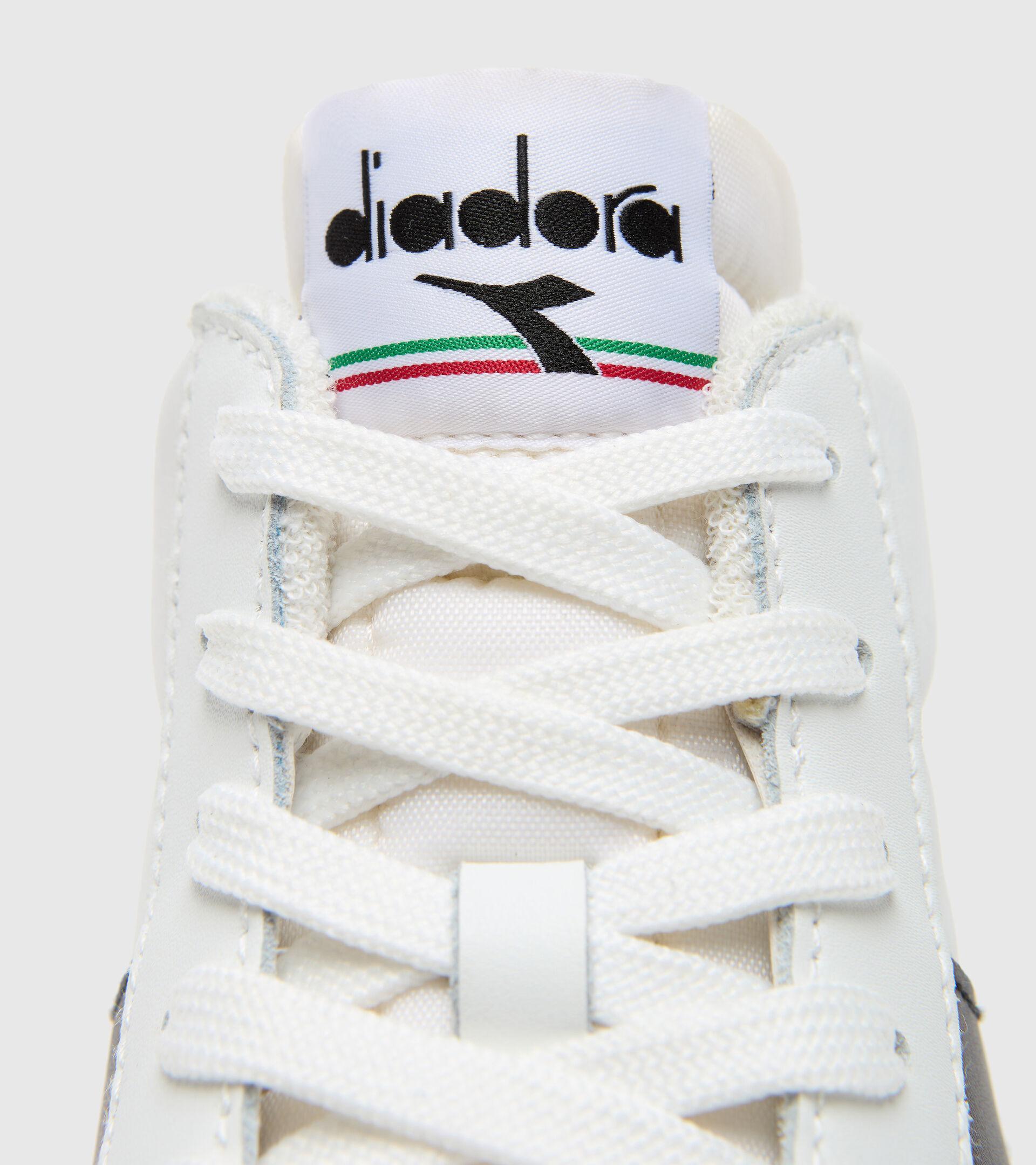 Footwear Sportswear UNISEX MELODY MID LEATHER DIRTY BLANCO/NEGRO Diadora