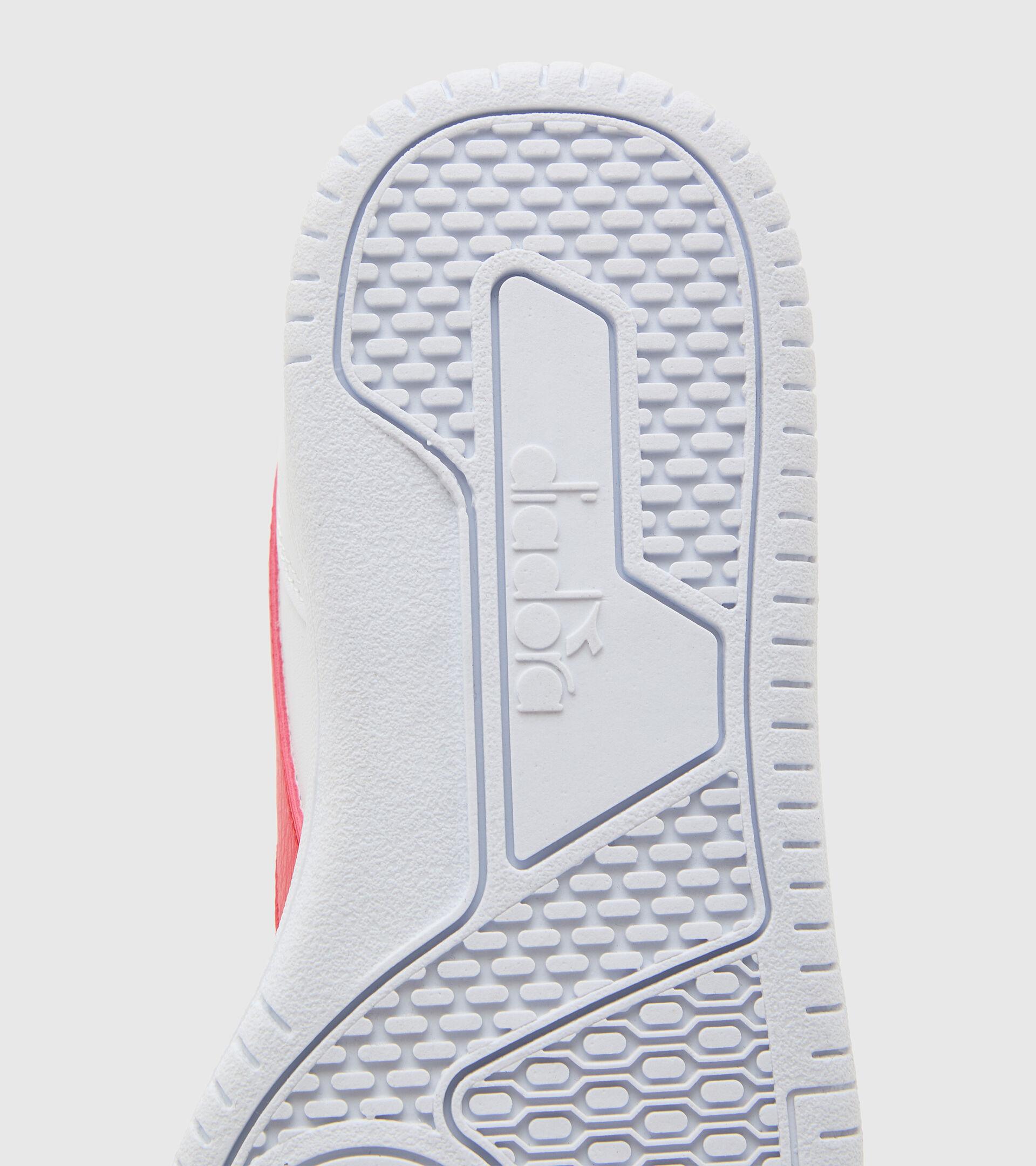 Footwear Sport BAMBINO RAPTOR LOW GS BIANCO/TOMATO RED Diadora