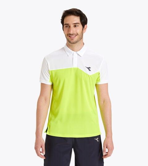 Polo de tenis - Hombre POLO COURT AMARILLO FLUO DD - Diadora