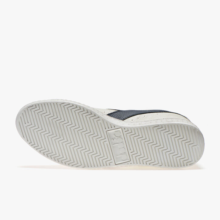 GAME L LOW WAXED, BLANCO/AZUL MAR CASPIO, large