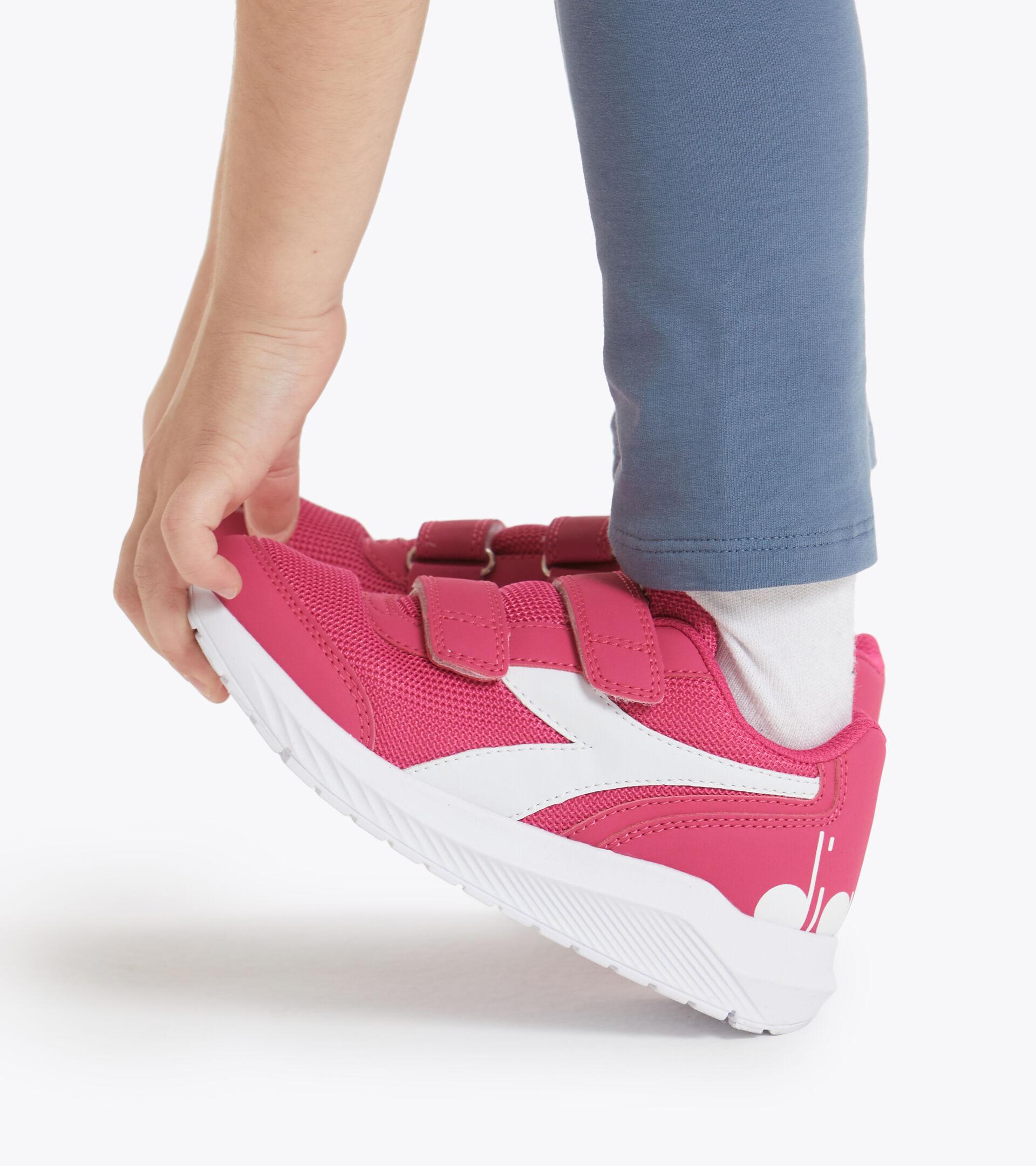 Footwear Sport BAMBINO FALCON JR V FUCHSIA PINK/WHITE Diadora