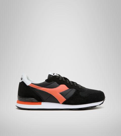Footwear Sportswear UNISEX CAMARO BLACK/RED TIGERLILY Diadora