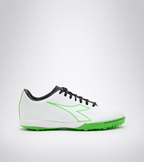 Footwear Sport UOMO PICHICHI 4 TFR WHITE/GREEN FLUO/BLACK Diadora