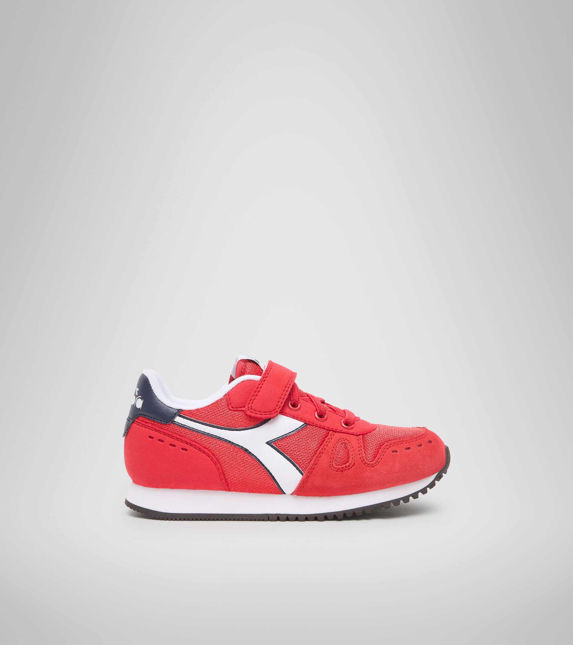 Footwear Sport BAMBINO SIMPLE RUN PS ROJO TOMATE Diadora