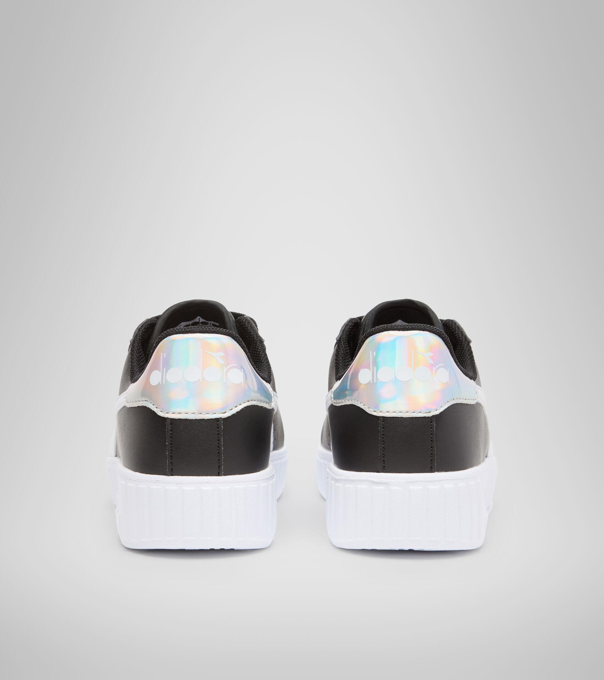 Footwear Sport BAMBINO GAME STEP GS BLACK /WHITE Diadora