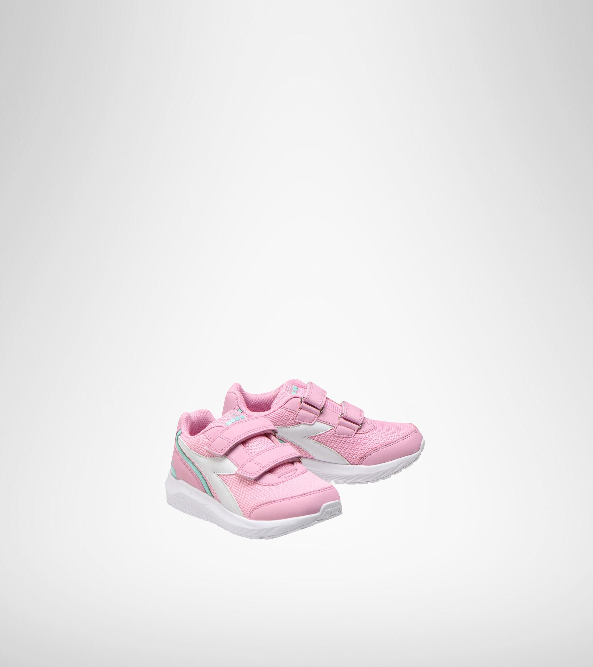 Chaussures de running - Unisexe Enfant FALCON JR V ROSA LADY/BIANCO - Diadora