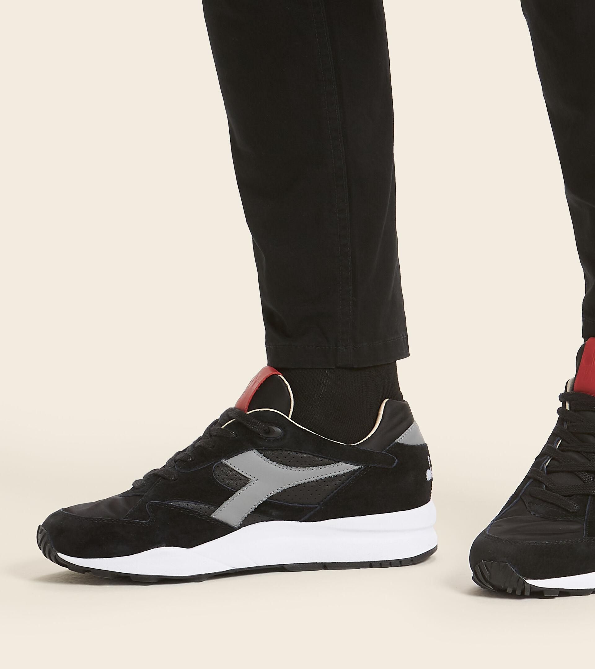 Heritage-Schuh Made in Italy - Herren ECLIPSE ITALIA SCHWARZ - Diadora