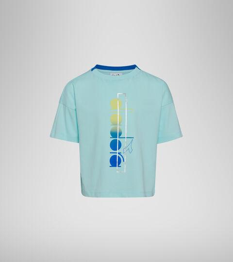 T-Shirt - Mädchen JG. T-SHIRT SS LOGO MANIA BLAU TINTE - Diadora