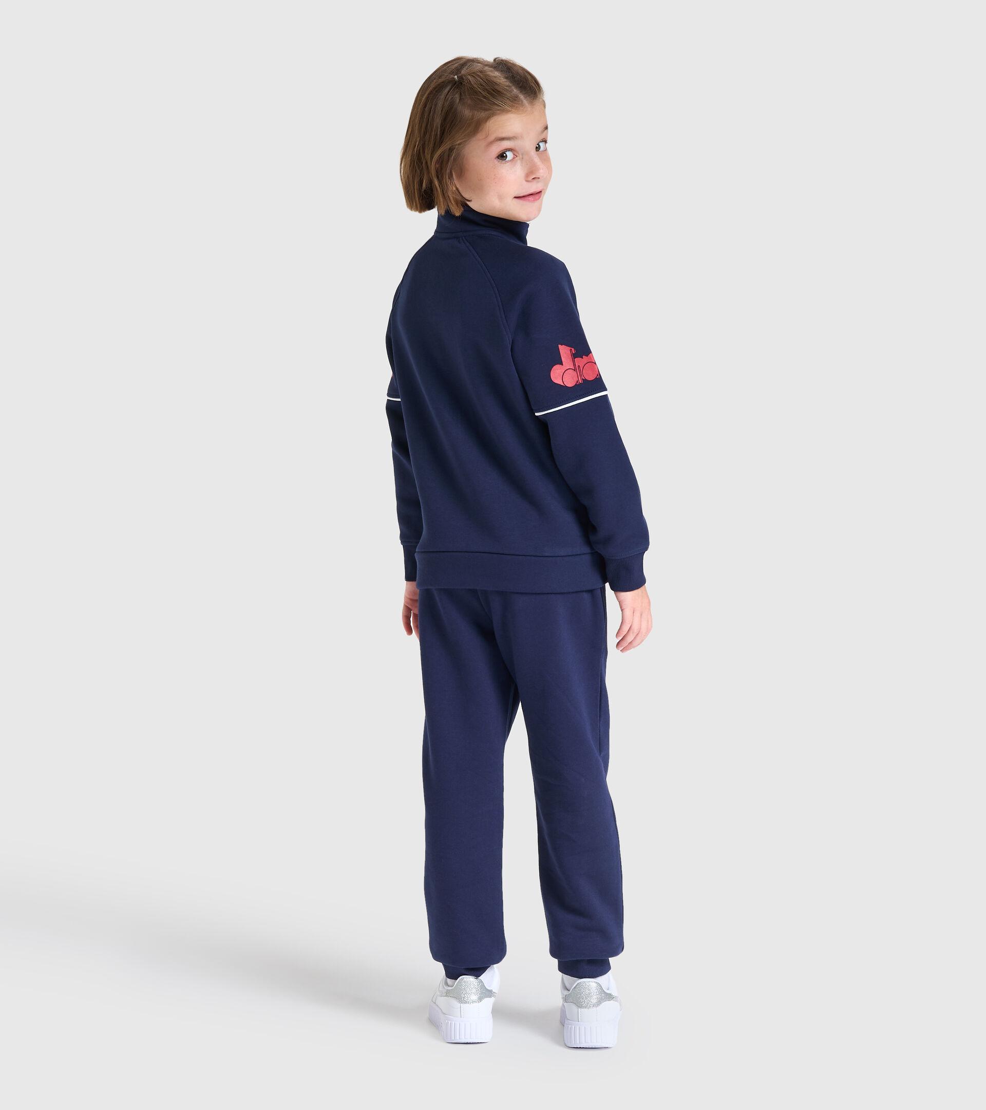 Trainingsanzug - Kinder JU. FZ TRACKSUIT CUBIC CABAN BLAU - Diadora