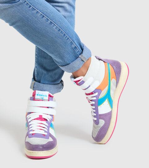 Chaussures de sport - Femme MAGIC BASKET MID ICONA WN ENGLISH LAVENDER/WHITE - Diadora