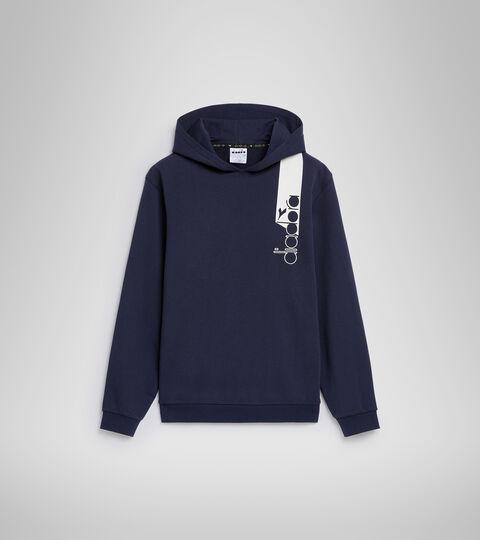 Apparel Sportswear UOMO HOODIE ICON BLU CLASSICO Diadora