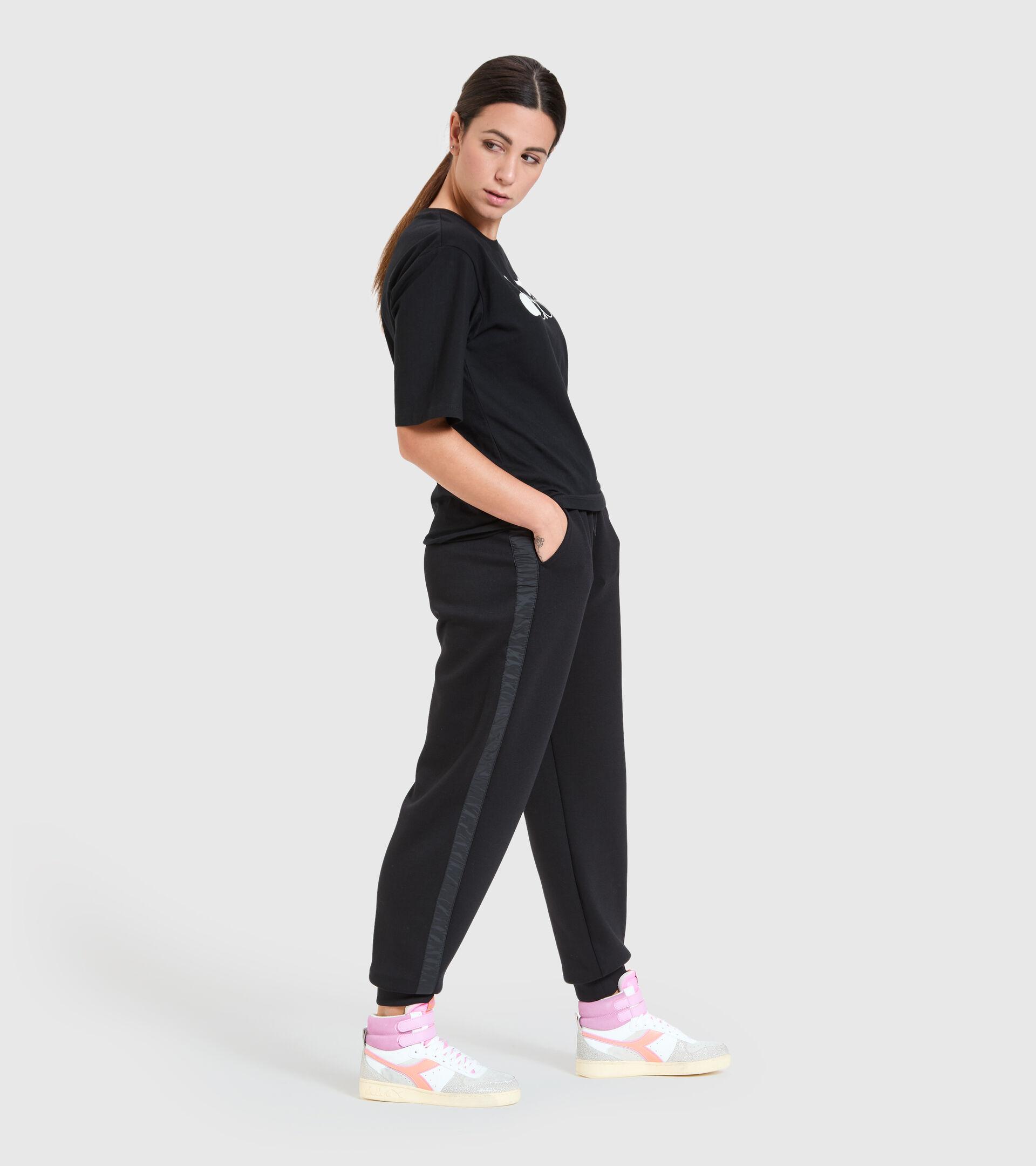 Sports trousers - Women  L. PANT URBANITY BLACK - Diadora